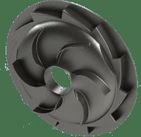 CAD model of the final diffuser