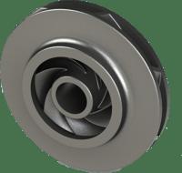 CAD model of the final impeller