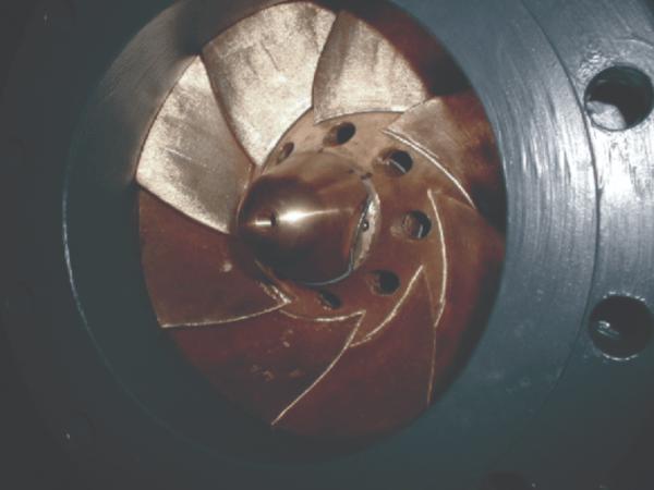 In-line hydraulic turbine - in situ