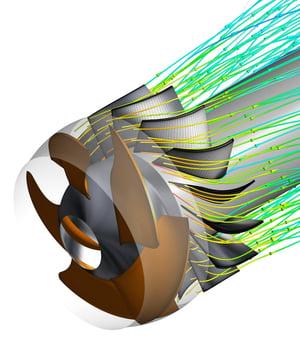 CFD pump model